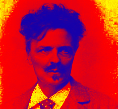 Strindberg röd:gul